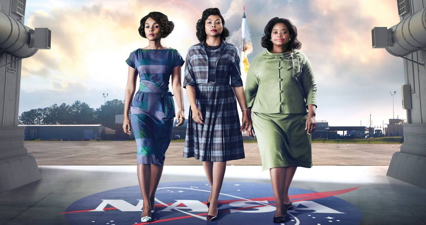 Hidden Figures kertoo Katherine Johnsonista, Dorothy Vaughanista ja Mary Jacksonista.